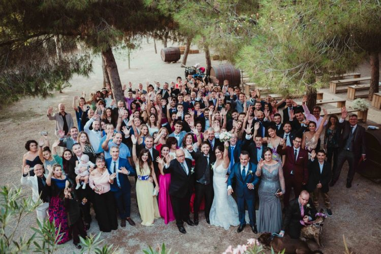 Fotografias con invitados boda