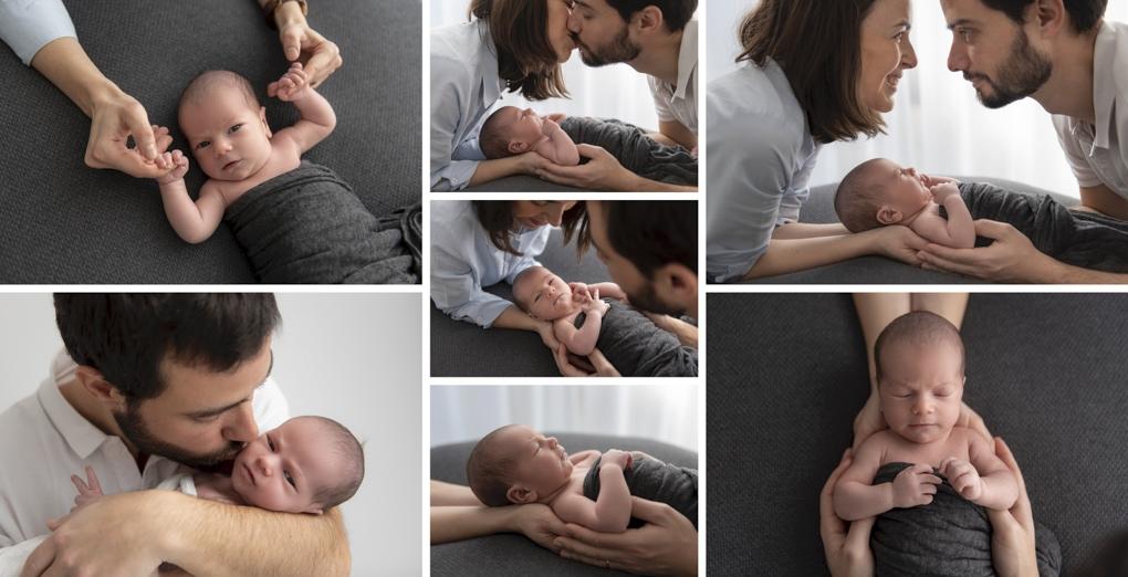Sesión newborn en Barcelona
