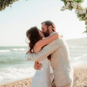 Fotografia boda playa